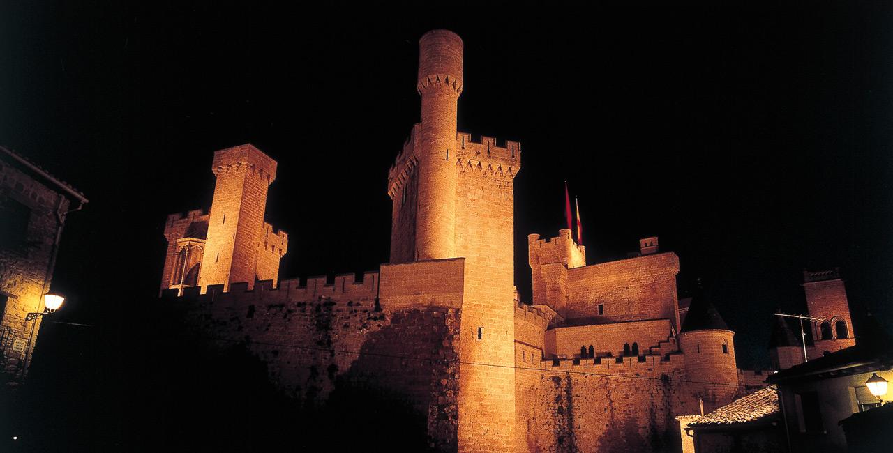 Castillo Olite Navarra Bajamar