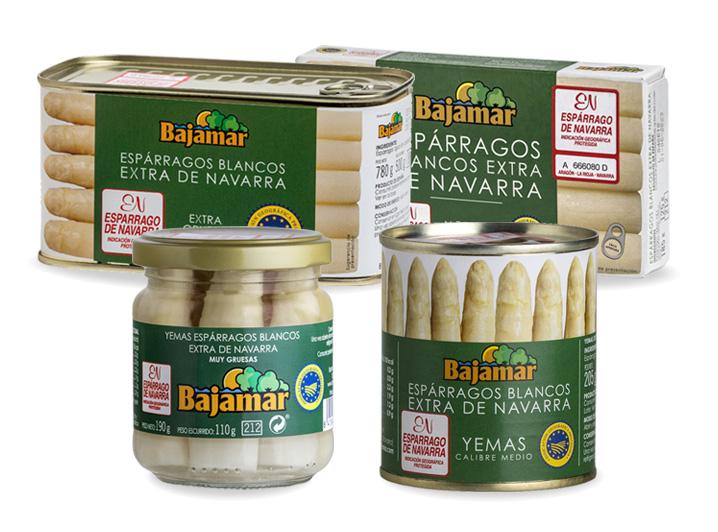 Espárragos Extra Navarra Bajamar