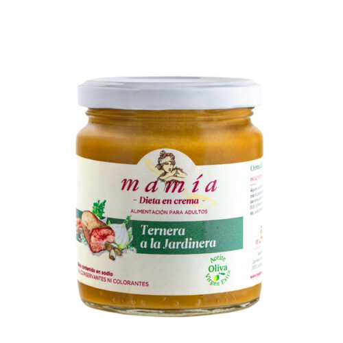 Crema Ternera Jardinera Mamía