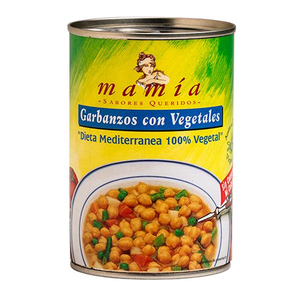 Dieta Mediterránea Garbanzos Mamía