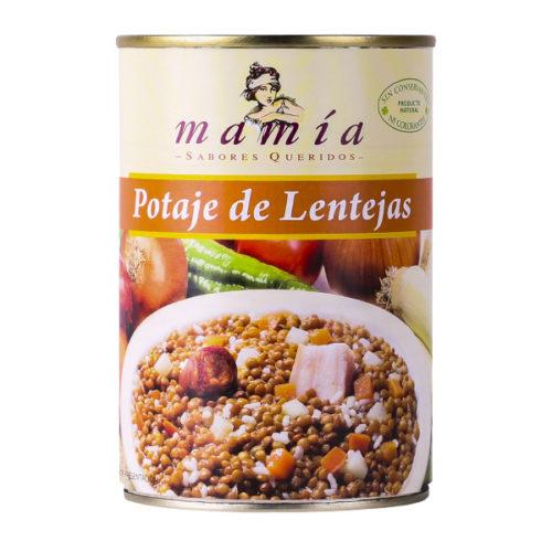 Dieta Mediterránea Potaje Lentejas Mamía