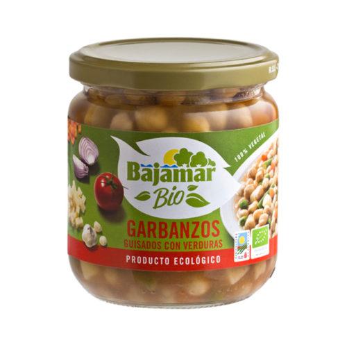 Garbanzos con verduras Bio Bajamar