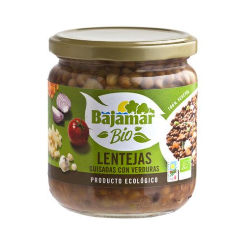 Lentejas con verduras Bio Bajamar