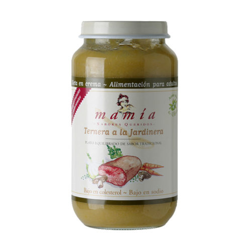 Ternera Jardinera Dieta Crema Mamía