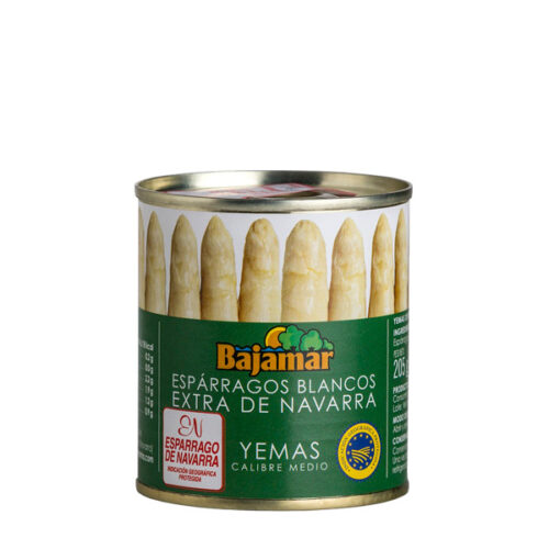 Yemas espárragos blancos medianas Bajamar