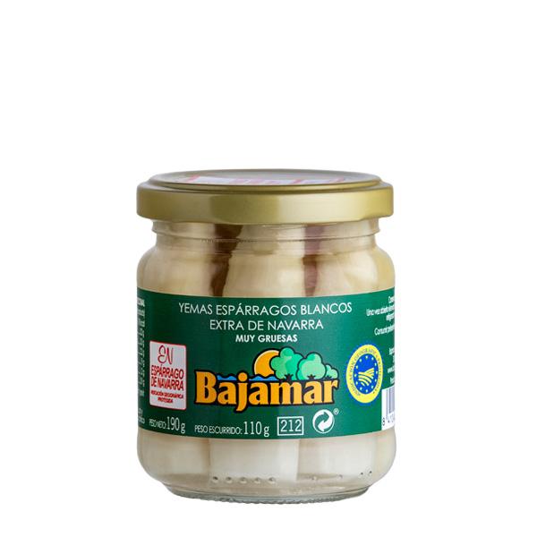 Yemas espárragos blancos muy grueso Bajamar